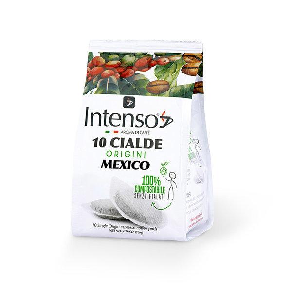 Intenso Mexico Espresso (100 % Arabica), 12 x 10 E.S.E.-Pads (lose verpackt)