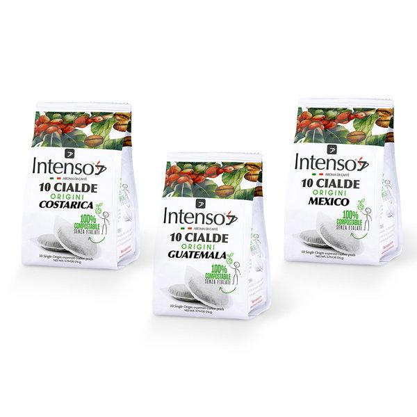 Intenso Selezione Espresso (Costa Rica, Guatemala, Mexico), Set mit 360 E.S.E Pads (lose verpackt)