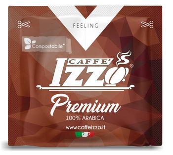 Caffé Izzo Premium 100 % Arabica Espresso, Set mit 100 E.S.E Pads