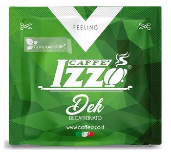 Caffé Izzo DEK Decaffeinato Espresso, Set mit 100 E.S.E Pads