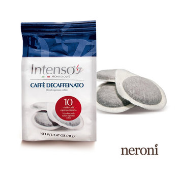 Intenso Decaffeinato Espresso, Tütchen mit 10 E.S.E Pads